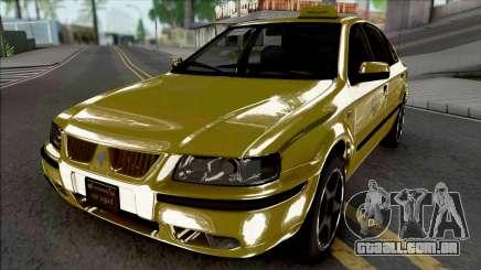 Ikco Samand LX Taxi para GTA San Andreas