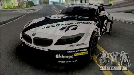 BMW Z4 GT3 Team NFS para GTA San Andreas