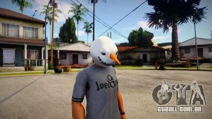 Snowman mask (GTA V Old Gen Xmas) para GTA San Andreas