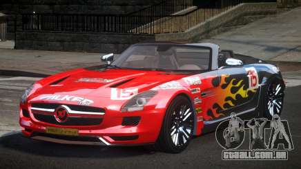 Mercedes-Benz SLS PSI-R L3 para GTA 4