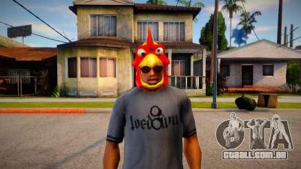 Máscara de galo para GTA San Andreas