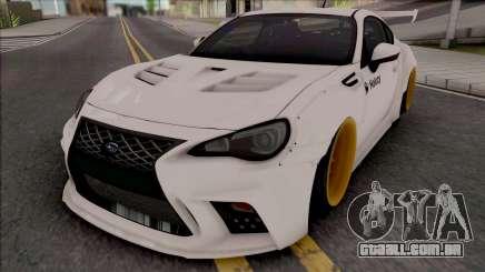 Subaru BRZ Drift para GTA San Andreas