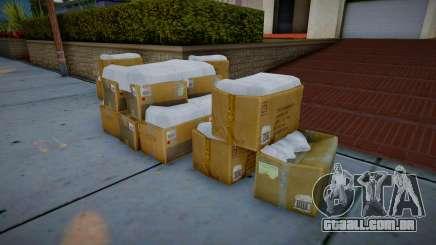 Winter Boxes para GTA San Andreas