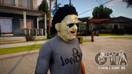KILLER - Leatherface Mask para GTA San Andreas