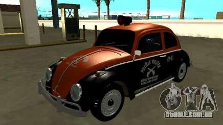 Volkswagen Beetle 1969 Rádio Patrulha Paulista para GTA San Andreas