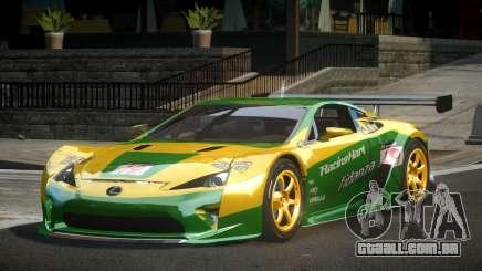 Lexus LFA PSI-R L9 para GTA 4