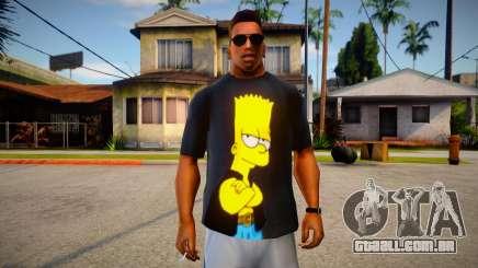 Bart Simpson T-Shirt (good textures) para GTA San Andreas