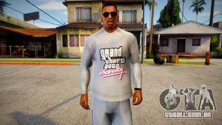 Vice City Sweater for CJ para GTA San Andreas