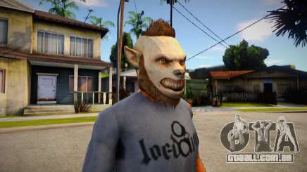 GTA V Halloween mask V3 para GTA San Andreas
