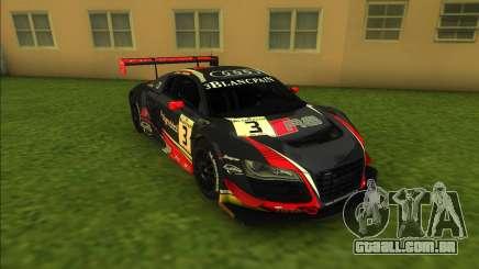 Audi R8 LMS (Glass Fix) para GTA Vice City
