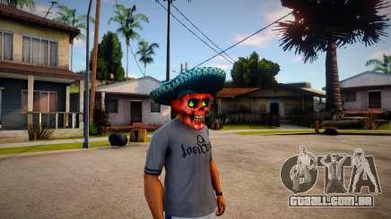 Mariachi Skull Mask For CJ para GTA San Andreas