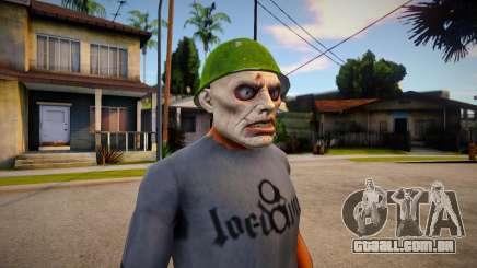 PUTREFIED_ZOMBIE (DLC Gunrunning) para GTA San Andreas