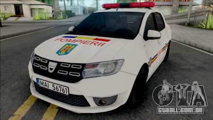 Dacia Logan Plus Fire Department para GTA San Andreas