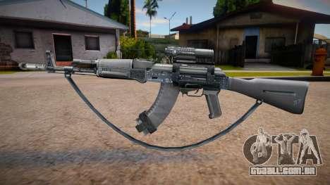 Ak47 Marck_delta para GTA San Andreas