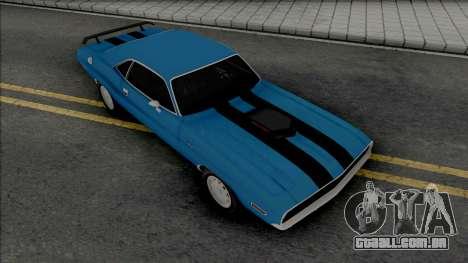 Dodge Challenger RT 1970 [ADB IVF VehFuncs] para GTA San Andreas