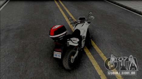 Honda XRE 300 2019 PMESP para GTA San Andreas