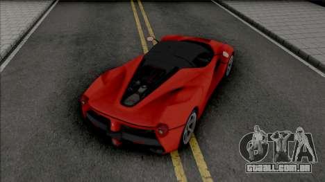 Ferrari LaFerrari [Fixed] para GTA San Andreas