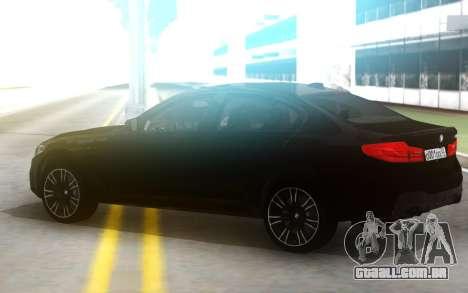 BMW 520d M5 kit para GTA San Andreas