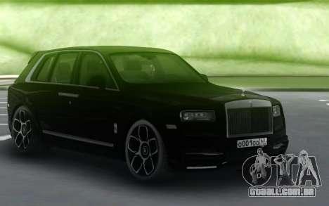 Rolls-Royce Cullinan Black para GTA San Andreas