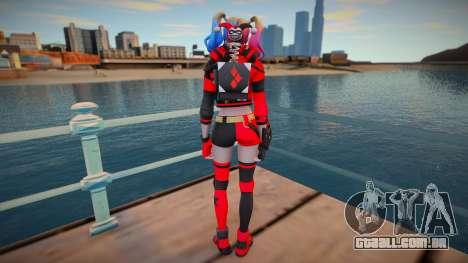 Harley Quinn (normal skin) para GTA San Andreas