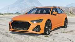 Audi RS 6 Avant (C8) V3.〡0 v3.0 para GTA 5