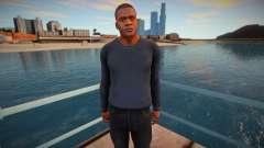 Franklin dark clothes para GTA San Andreas