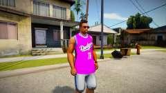 Ballas T-shirt para GTA San Andreas
