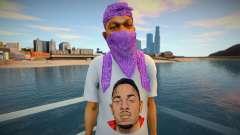 Kendrick Lamar Ballas style para GTA San Andreas