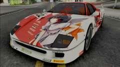 Ferrari F40 (Real Racing 3) para GTA San Andreas