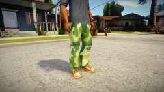 Camouflage Pants para GTA San Andreas