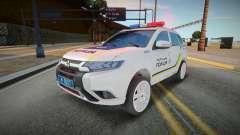 Mitsubishi Outlander - Patrulha policial ucraniana para GTA San Andreas