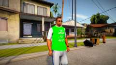 T-shirt Grove Street 4 Life para GTA San Andreas