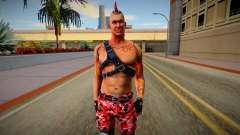 Punk (good skin) para GTA San Andreas