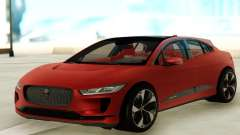 Jaguar I-PACE para GTA San Andreas