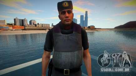 Oficial de PPP em colete à prova de balas para GTA San Andreas