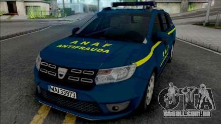 Dacia Logan MCV 2018 ANAF Antifrauda para GTA San Andreas