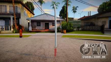 Katana (boas texturas) para GTA San Andreas