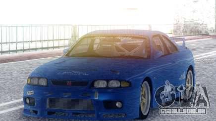 Nissan Skyline GT-R BCNR33 TBK para GTA San Andreas