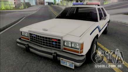 Ford Crown Crown Vic 1986 Fort Carson Police para GTA San Andreas