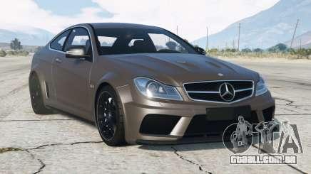 Mercedes-Benz C63 AMG (C204) V1.1 〡2012 para GTA 5