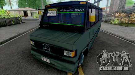 Mercedes-Benz LO 809 Inrecar v2 para GTA San Andreas