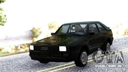 Audi Sport Quattro 1983 Black para GTA San Andreas