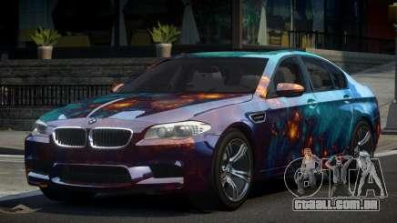 BMW M5 F10 PSI-R S2 para GTA 4