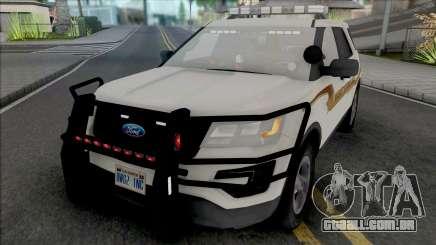 Ford Explorer 2017 Fayette County Sheriff para GTA San Andreas