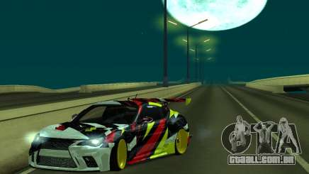 Subaru Brz Drift V2 para GTA San Andreas