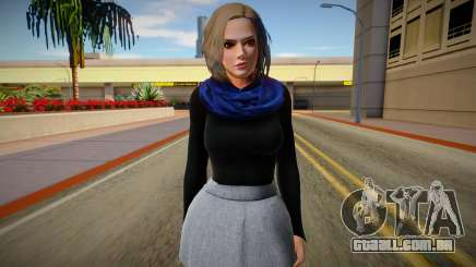 Christie Casual v2 (good skin) para GTA San Andreas