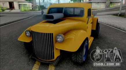 GTA V Bravado Rat-Truck [VehFuncs] para GTA San Andreas