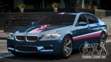 BMW M5 F10 PSI-R S3 para GTA 4