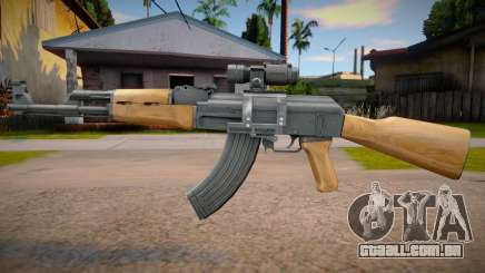 AK-47 Scoped para GTA San Andreas
