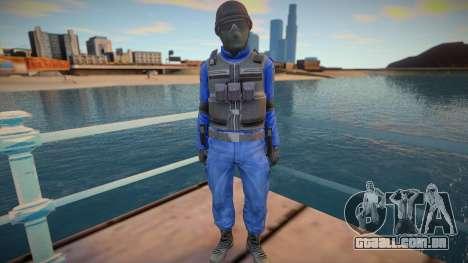 New swat (good model) para GTA San Andreas